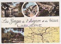 CPSM 82250 LAGUEPIE Gorges de Aveyron Viaur multivues  Edt COMBIER ca1968