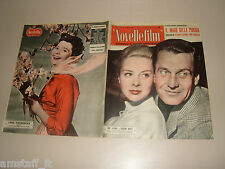 JUNVE LAVERICK=MASSIMO GIROTTI=JUNE THORBURN=COVER MAGAZINE=1957/487 NOVELLEFILM