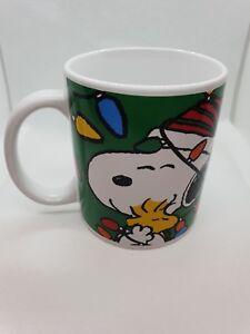 Peanuts snoopy woodstock mug By GALERIE  rare