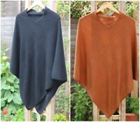 Authentic Cashmere Poncho, Cashmere Wool Cardigan Wrap Sweater