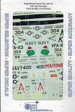 F/A18C Hornet VX-9 & VFA-113 Grinch 1/48 Superscale 48-713