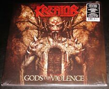Kreator: Gods Of Violence - Limited Edition Red Sherbert Color Vinyl 2 LP NB NEW