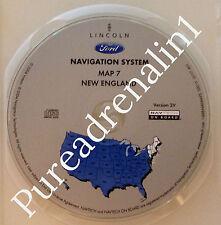 03 04 2005 FORD EXPEDITION NAVIGATION MAP CD NEW ENGLAND CT NJ RI VT ME NH MA NY