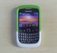 Genuine Blackberry ACC-32920-202 Green/White Premium Skin 9330 8520 9300 Curve