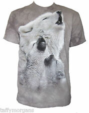Singing Lessons The Mountain Howling Wolf Wolves Husky Huskies Cubs T-Shirt