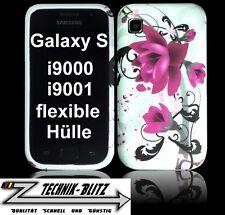 - protección funda para Samsung Galaxy S gt-i9000/i9001 diseño lirio case/bolsa sgs