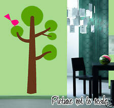 FUN TREE & BIRD - Childern - Kids Room Wall Art - Nursery Decor