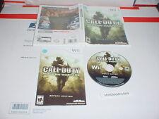 CALL OF DUTY: MODERN WARFARE REFLEX game complete in case - Nintendo Wii