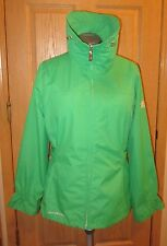 ZERO XPOSUR Green Jacket Coat Spring Water Resistant Womens Sz Size L Large