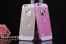Luxury Bling Crystal Glitter Back Case Cover for Apple iPhone SE 5S 5C 6 6S Plus