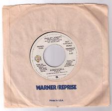 promo 45 Philip Lynott King's Call US Warner Bros. Thin Lizzy Mark Knopfler Phil