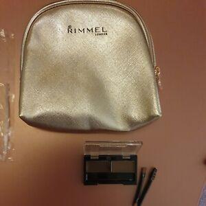 Rimmel London Brow This Way Eyebrow Sculpting Kit with Make up bag