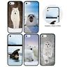 Animaux Arctiques Pare-Chocs Coque Apple iPhone 5 5s SE 6 6s 7 8 Plus X XS XR