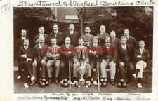 More details for real photographic postcard of brentwood bowling club 1911, (near romford), essex