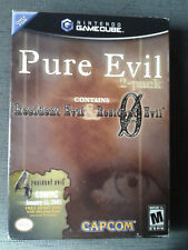 Resident Evil Pure Evil 2 Pack Limited Edition Gamecube  NEUF/NEW (SEALED) RARE