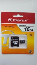 Transcend 16GB Lot of 25 16GB MicroSDHC Memory Card + adapter Brand New Sandisk