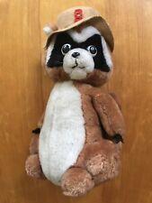 Vintage National Wildlife Plush Ranger Rick Stuffed Toy 1976