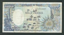 New ListingChad - One Thousand (1000) Francs 1985