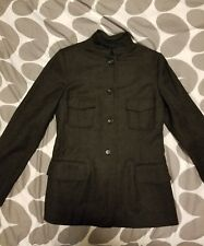 Jil Sander Women's Charcoal Gray Blazer Jacket SIZE 38 US SIZE 6
