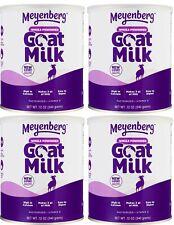 (4 Cans) Meyenberg Whole Powdered Goat Milk 12 oz Each Exp 7/2023