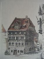 ::SIGLINDE MEYTHALER *1944 NÜRNBERG DÜRER HAUS SONDEREDITION QUELLE VERSAND