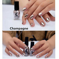 New Metallic Nail Polish Magic Mirror Effect Chrome Essie Lacquer Nail Art Decor