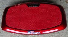 Vibrapower Slim 3 - Equipment Mat, Bands, Wrist RC & Wall Chart - Red