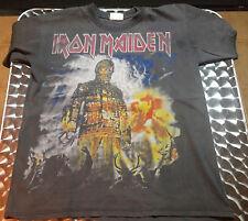 Vintage Iron Maiden 2.000 THE WICKERMAN  Tour T Shirt Size L