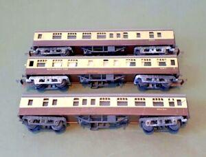 Triang TT Western Region Coaches X 3 Spares Repair