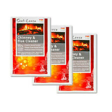 3 X 50G RubbedIn Soot Loose Chimney & Flue Cleaner