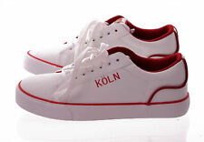 Cologne Shoes (White/Red ) Various Sizes Cologne Trainers Cologne Trainers