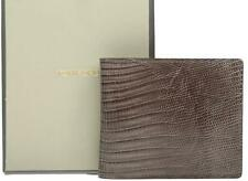NEW TOM FORD EXOTIC TUPINAMBIS REPTILE CREDIT CARD ID BILL CASE BIFOLD WALLET