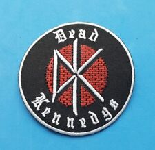PUNK ROCK HEAVY METAL MUSIC FESTIVAL SEW ON / IRON ON PATCH:- DEAD KENNEDYS