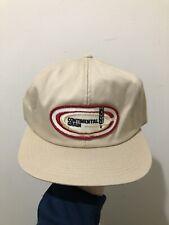 Vintage 70s 80s K Products K Brand Continental Grain Snapback Trucker Hat Cap