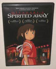 Miyazaki's Spirited Away Studio Ghibli dvd Walt Disney Presents 2 disc exc cond