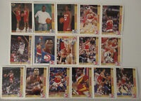 1991-92 Upper Deck Atlanta Hawks Team Set Of 23 Basketball Cards