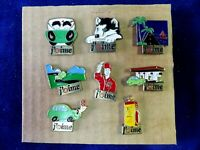 Pin's vintage Collector épinglette lot de 8 pins collection j'aime SHELL