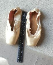 Vintage Dance old used worn  Ballet Dance Shoes Slippers free shipping USA