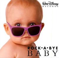 """Walt Disney """"ROCK-A-BYE BABY"""" Soft Hits For Little Rockers (CD 1996) **VG** sryb"""