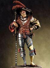 Pegaso Models 90mm Landsknecht Soldier White Metal Figure Kit #90-052