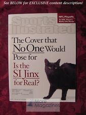 SPORTS Illustrated January 21 2002 SI Jinx NFL JERMAINE O'NEAL JERE KARALAHTI