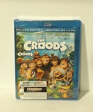 The Croods 3D (Blu-ray/DVD, 2013, 3-Disc Set, Canadian 3D NEW AUTHENTIC REGION A