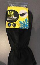 Eiskratzer mit Handschuh Auto Eisschaber Scheibenkratzer warm schwarz Eisbreche