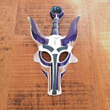 Sargadelos Mask N.3 Bull, Spanish pottery, Porcelaine wall mask