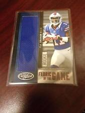 2012 CERTIFIED T. J. GRAHAM  FABRIC OF THE GAME FOTG ROOKIE JERSEY RC /199!!!!!!