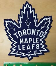 TORONTO MAPLE LEAFS Jersey Crest Vintage Large NHL Embroidered
