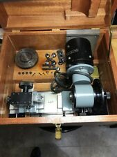 Machinist, Watchmakers, Jewelers Motorized Centers / Turns / lathe in Box Set