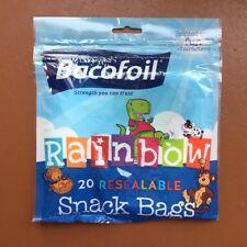 BACO Rainbow Snack Bags X 20 85b29