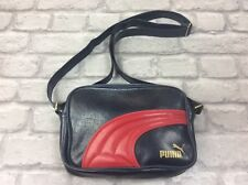 PUMA NAVY AND RED VINTAGE ACROSS BODY BAG RETRO SPORTSWEAR CASUAL ACTIVE 82e72f9bf5