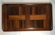 Rare! Dansk Cocobolo Wood Large Serving Tray IHQ Denmark Mid Century Modern